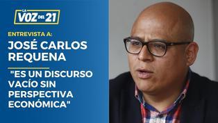 José Carlos Requena analiza el pedido de voto de confianza