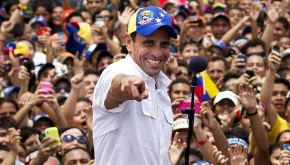Capriles se muestra agresivo. (Reuters)