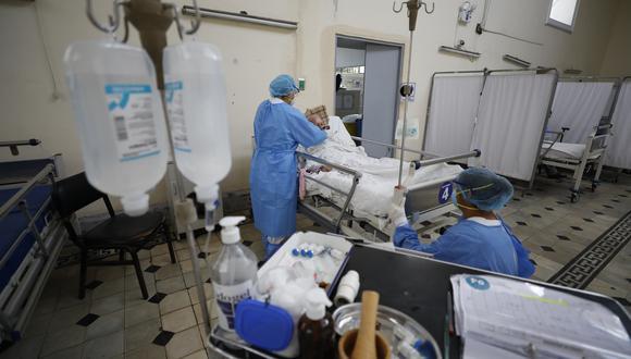Pacientes internados por COVID-19 en los diferentes hospitales podrán mantener comunicación con sus familiares a través de videollamadas. (GEC)