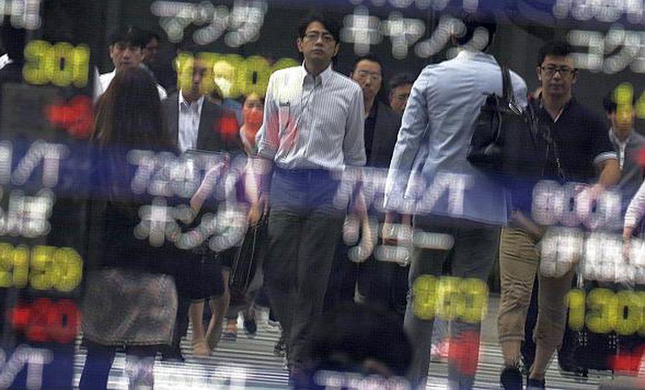 La bolsa de Tokio cerró en fuerte alza de 1,21% este lunes.(Foto: AFP)