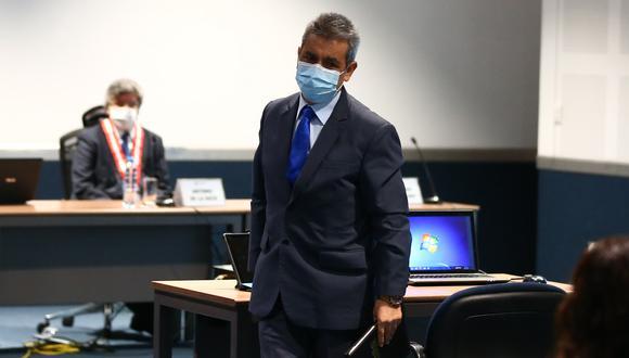 El exfiscal supremo Tomás Gálvez fue destituido por la Junta Nacional de Justicia. (Foto: GEC)