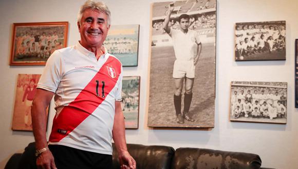 Percy Rojas fue campeón, en el 75, de las copas Libertadores y América. (Foto: Hugo Pérez)