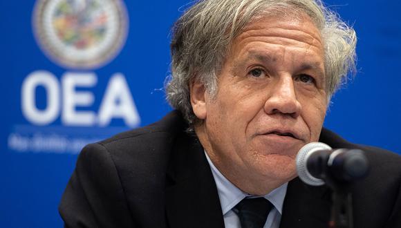 El Secretario General de la OEA, Luis Almagro. Venezuela acusa a la OEA de ser una institución politizada. (Foto: AFP/Archivo)