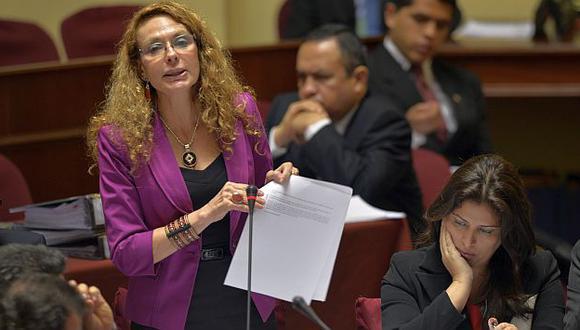 Karp se enfrentó a los fujimoristas de la Comisión de Fiscalización. (Luis Gonzales)