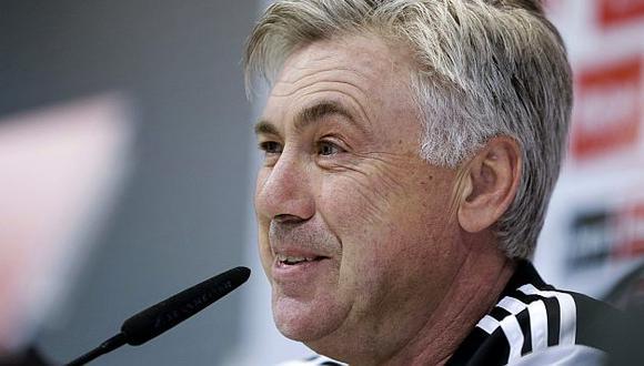 Carlo Ancelotti mantiene al Real Madrid como líder de la Liga española. (EFE)