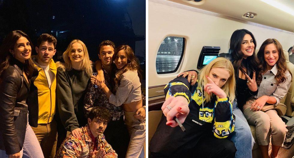 Nick Jonas habla sobre la relación de Priyanka Chopra con Sophie Turner y Danielle Jonas (Foto: Instagram)
