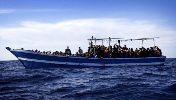 Libia: Hallan los cadáveres de 40 emigrantes frente a las costas del país. (EFE/Referencial)