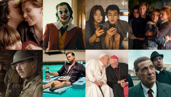 Estos son algunos de los nominados a los Premios Oscar 2020. (Foto: Composición Perú21)