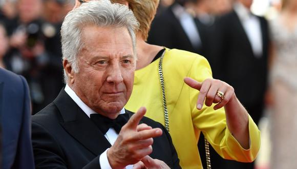 Desde el 2017 el actor Dustin Hoffman se mantuvo al margen de cualquier película u obra teatral. (AFP).