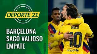 Barcelona sacó valioso empate