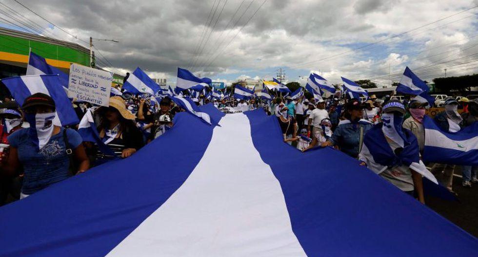 El Gobierno de Nicaragua calificó de parcializada y politizada a la CIDH por sus informes sobre la crisis que vive el país.   Foto: AFP