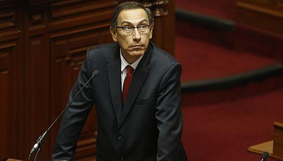 Martín Vizcarra está dispuesto a tomar decisiones drásticas. (USI)