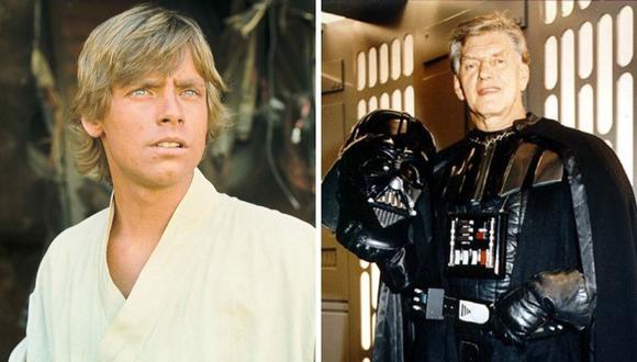 """Mark Hamill emitió un mensaje a propósito de la muerte de Dave Prowse, quien interpretó a """"Darth Vader"""" en la trilogía original de Star Wars. (Foto: Cortesía / 20th Century Studios / Twitter/ @HamillHimself)."""