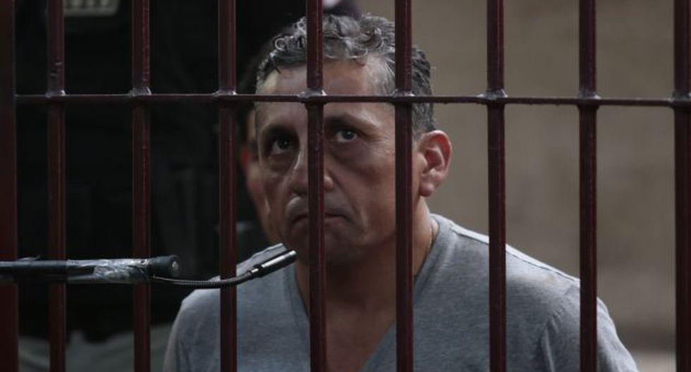 Antauro Humala despachaba desde la cárcel. (César Fajardo)