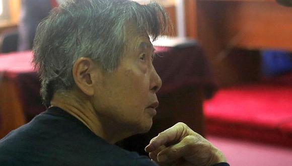 Alberto Fujimori en una audiencia del juicio en su contra por los diarios 'chicha'. (Perú21)