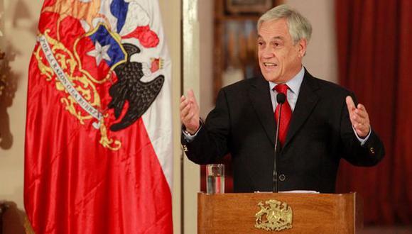 Aprobación de Sebastián Piñera llegó a un 26%. (El Mercurio)