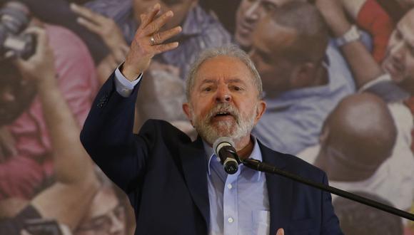Tras la anulación de las condenas, Lula, de 75 años, recuperó sus derechos políticos, los cuales fueron anulados en 2018 tras ser condenado en segunda instancia por corrupción, lo que le impidió ser candidato en las elecciones de ese año. (Foto: Miguel SCHINCARIOL / AFP)