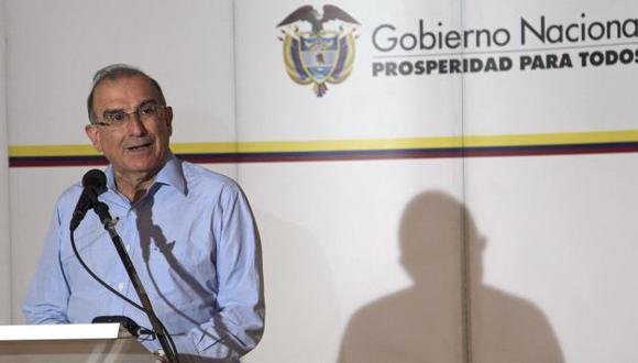 De la Calle dio declaraciones desde La Habana. (AP)
