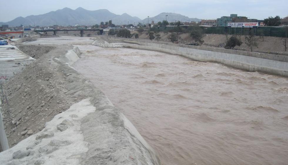 Senamhi anunció que el aumento del caudal del Río Rímac se mantendrá hasta el 15 de marzo. (César Takeuchi/Perú21)