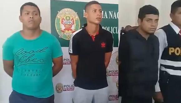 """""""Los Borreros de Pisco"""" fueron detenidos con tres armas de fuego y municiones en Pisco - Ica (Foto: difusión)"""