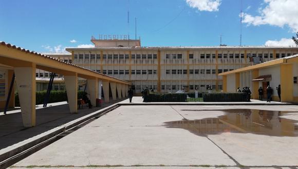 Puno: el Hospital Carlos Monge Medrano sí se encuentra abastecido para atender a pacientes con COVID-19 y otras enfermedades. (Foto: Difusión)
