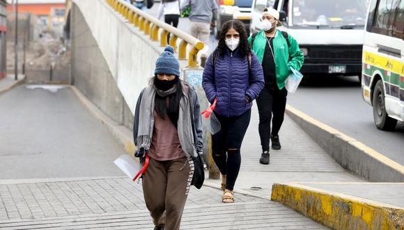 Las bajas temperaturas se acentúan en Lima durante el invierno. (Foto : Britanie Arroyo / @photo.gec)