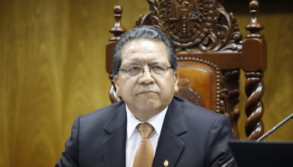 El fiscal supremo Pablo Sánchez asumirá la titularidad de la fiscalía por nueve días. (Foto: GEC)