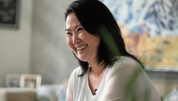 """""""He sido transparente desde el primer momento [sobre el indulto]. Si soy elegida, no será una sorpresa para nadie"""", señaló Keiko Fujimori. (Foto: GEC)"""