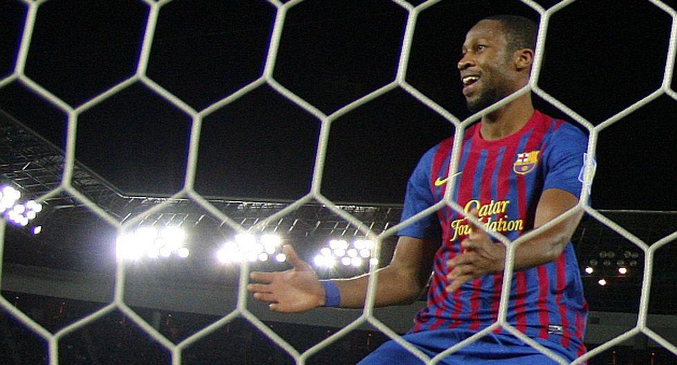 Keitá convirtió el tercer gol con una asistencia magistral de Messi. (AP)