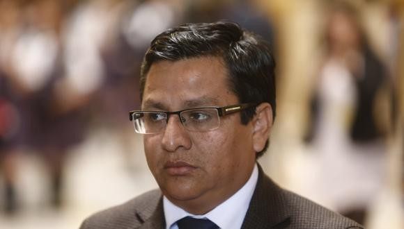 César Vásquez, vocero de Alianza Para el Progreso y miembro de la Subcomisión de Acusaciones Constitucionales. (Foto: USI)
