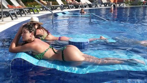 Tilsa Lozano estuvo divirtiéndose por Punta Cana. (Facebook)