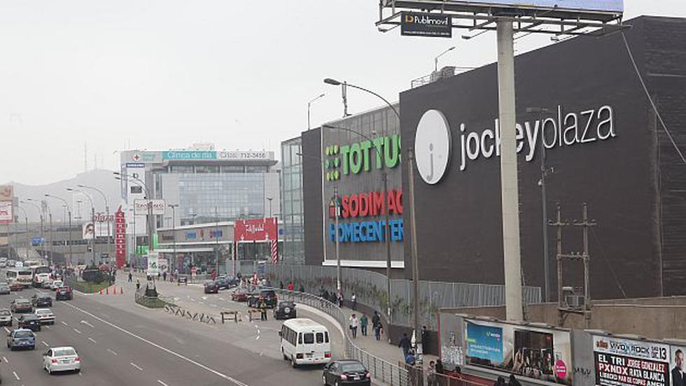 Incendio se registra en el centro comercial Jockey Plaza, en Surco. (USI)