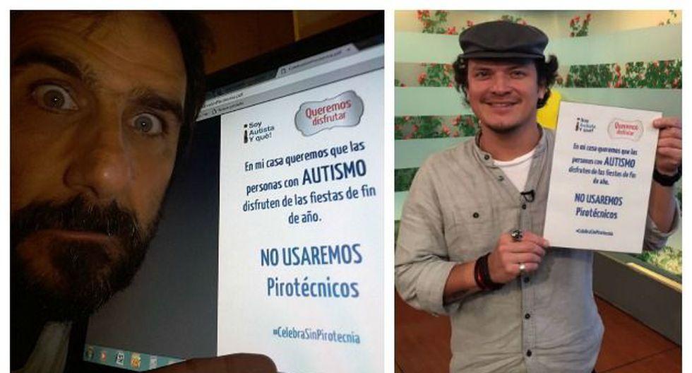 Diversos personajes se suman a campaña #CelebraSinPirotecnia para proteger a personas con autismo. (Perú21)