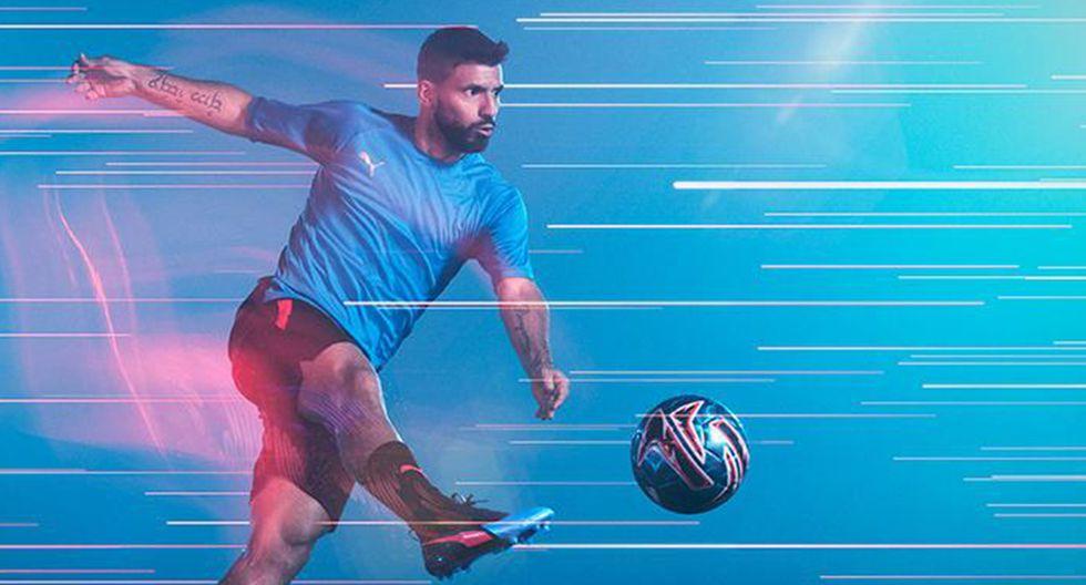 Puma, marca que viste a Sergio Agüero, será nuevo patrocinador de Manchester City. (Foto: Puma)