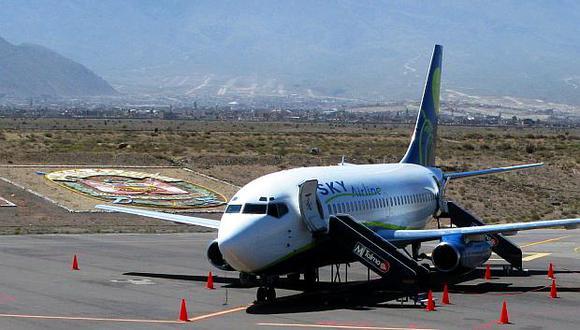 Sky Airline iniciará la operación de vuelos en el Perú en abril próximo con siete destinos nacionales. (Foto: GEC)