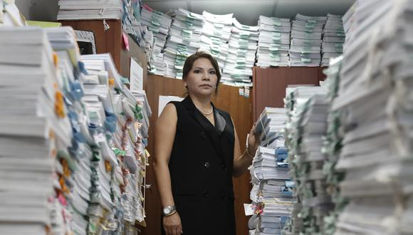 Marita Barreto, fiscal del caso Orellana. (César Campos/GEC)