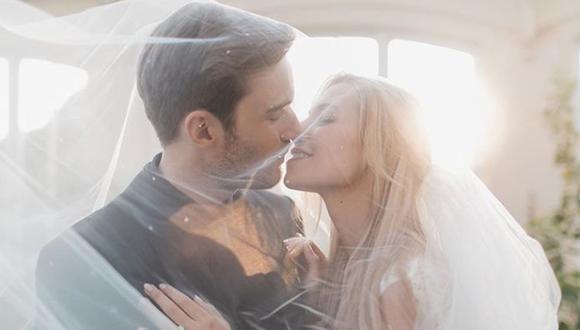 Marzia Bisognin  publicó las fotos de su boda con el youtuber PewDiePie. (Foto: Instagram Marzia Bisognin )