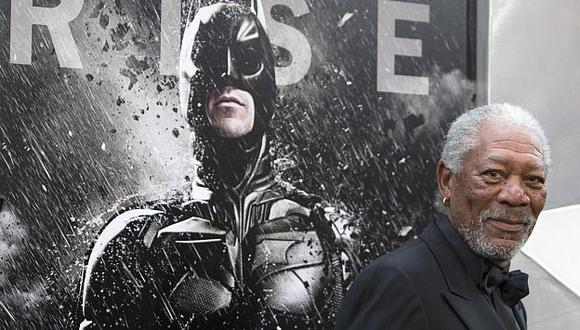 Freeman actúa en la última película de Christopher Nolan. (Reuters)