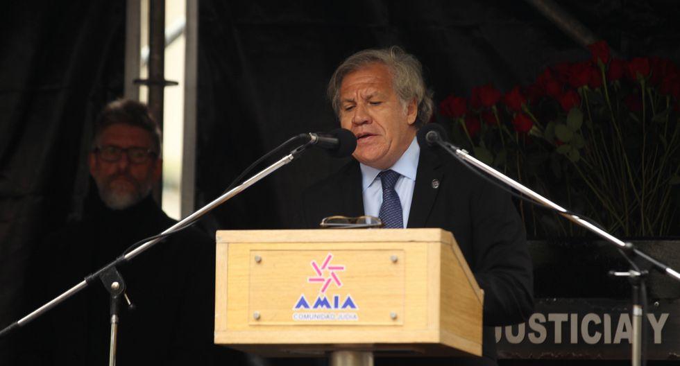 """Secretario general de la OEA, Luis Almagro, señaló que la desigualdad contra miembros de la comunidad LGTBI es """"inaceptable e intolerable"""" (Efe)."""