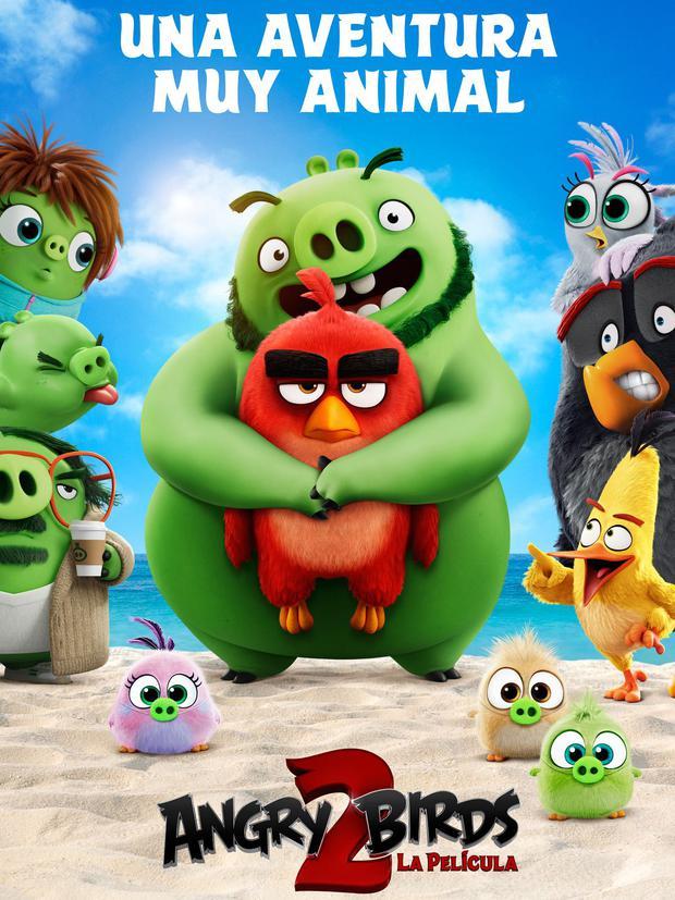 """Afiche de """"The Angry Birds Movie 2"""" en español """"La película de Angry Birds 2"""" (Foto: Rovio Entertainment / Columbia Pictures / Sony Pictures Animation)"""