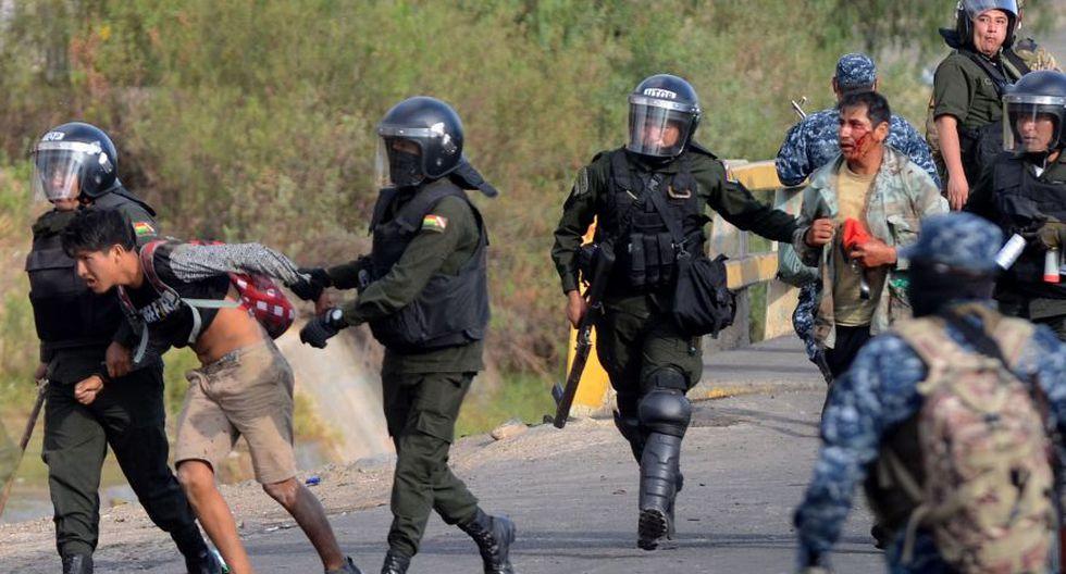 El funcionario explicó que estos casos se deben a impactos de municiones que se cree provinieron de las fuerzas conjuntas, Policía y ejército. (Foto: AFP)