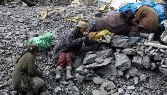 Minería informal pone en riesgo la vida de los trabajadores. (USI)