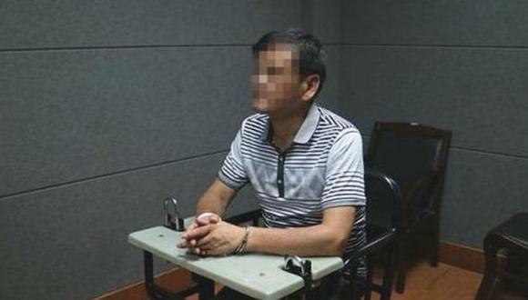 Liu Yongbiao de 54 años y un vecino de su pueblo, Wang, fueron condenados a la pena de muerte por robo y homicidio. (Foto: Policía de Zhejiang)