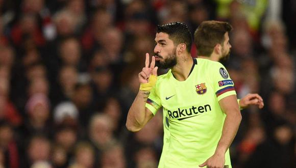 Luis Suárez tiene una posibilidad para seguir su carrera en la MLS. (Foto: AFP)