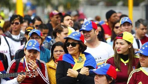 Venezolanos en Lima