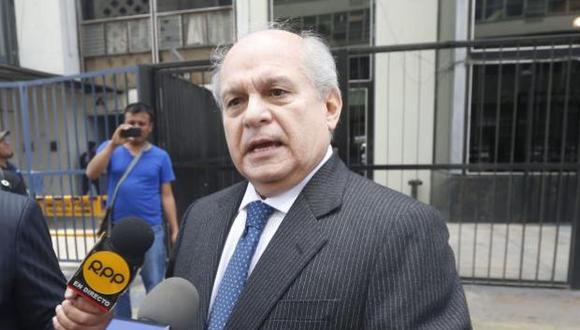 Pedro Cateriano en contra del indulto a Fujimori. (Perú 21)