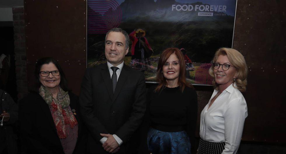 Salvador del Solar destacó la importancia de la biodiversidad agrícola en el evento Food Forever Experience. (Fotos: Renzo Salazar)
