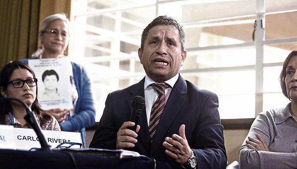 """Carlos Rivera: """"Esperamos que se invalide el indulto a Alberto Fujimori"""" (USI)"""