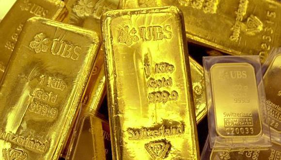 El oro se mantuvo sin cambios el martes. (Foto: AFP)