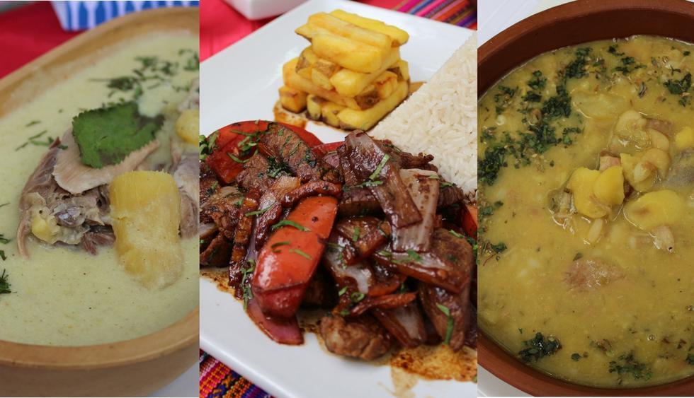 Tres platos peruanos que puedes disfrutar en familia. (Fotos: Columbia)